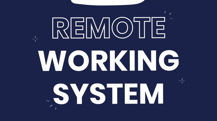 Remote working system