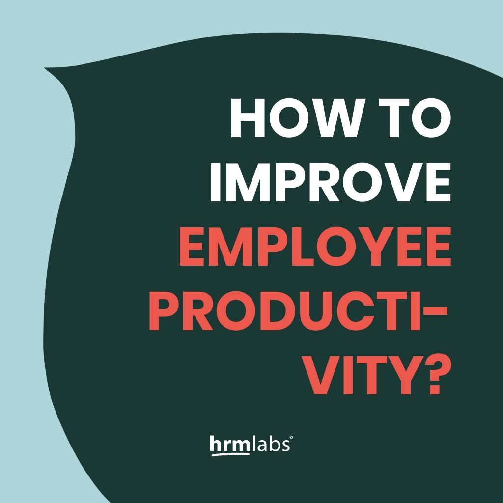 How To Improve Employee Productivity   HRMLabs