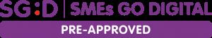 SGD SMEs G Digital Pre-Approved Logo